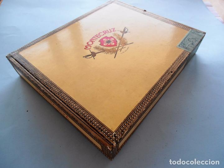 Cajas de Puros: CAJAS PUROS CANARIOS VACIAS. MONTECRUZ Y 3 DE PEÑAMIL #FV-R - Foto 2 - 99224351