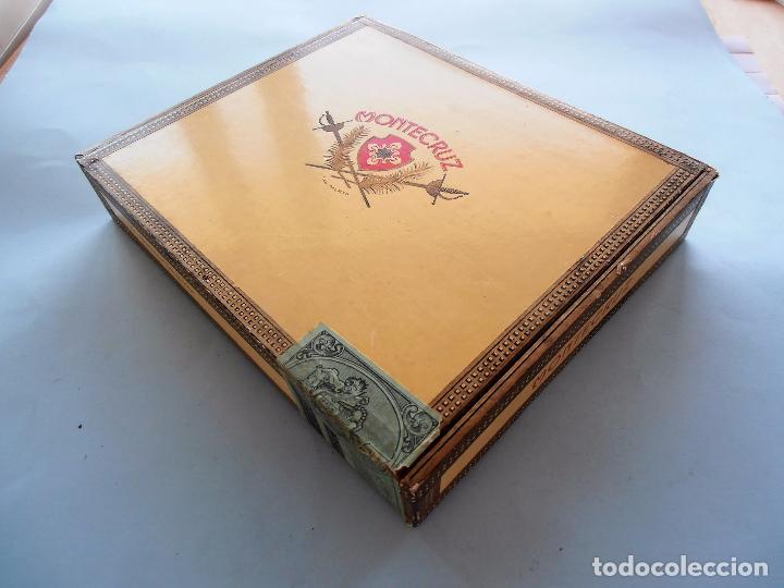 Cajas de Puros: CAJAS PUROS CANARIOS VACIAS. MONTECRUZ Y 3 DE PEÑAMIL #FV-R - Foto 3 - 99224351