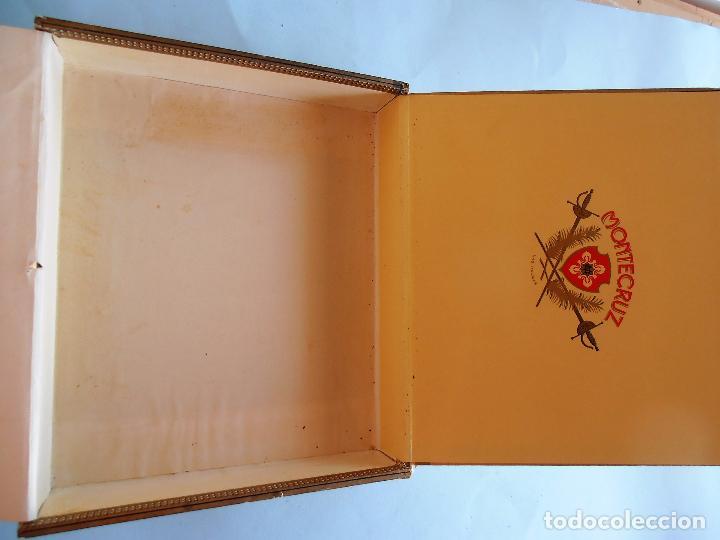 Cajas de Puros: CAJAS PUROS CANARIOS VACIAS. MONTECRUZ Y 3 DE PEÑAMIL #FV-R - Foto 5 - 99224351