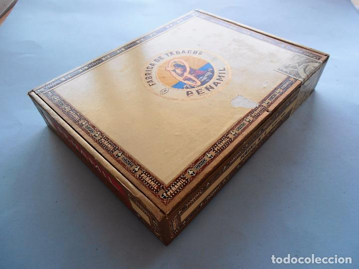 Cajas de Puros: CAJAS PUROS CANARIOS VACIAS. MONTECRUZ Y 3 DE PEÑAMIL #FV-R - Foto 14 - 99224351