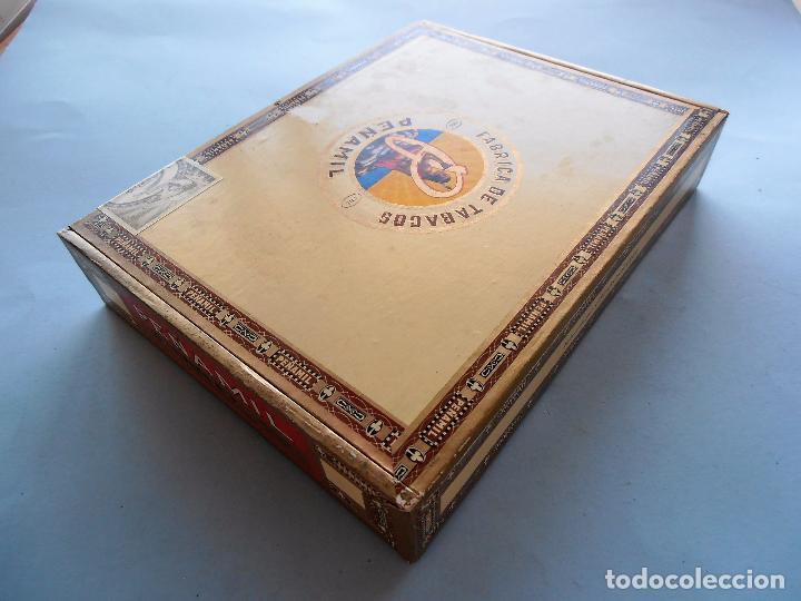 Cajas de Puros: CAJAS PUROS CANARIOS VACIAS. MONTECRUZ Y 3 DE PEÑAMIL #FV-R - Foto 15 - 99224351