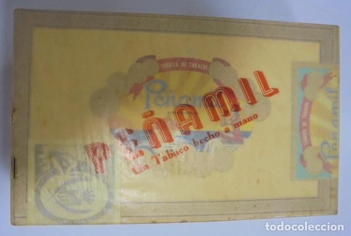Cajas de Puros: CAJA DE PUROS. PEÑAMIL. 1974. PERFECTO ESTADO. 25 PEÑAMIL Nº 2. VER FOTOS - Foto 4 - 103271971