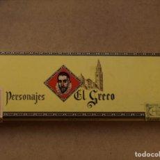 Cajas de Puros: CAJA PUROS PERSONAJES EL GRECO (INCOMPLETA). Lote 103425335