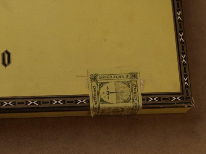Cajas de Puros: CAJA PUROS PERSONAJES EL GRECO (INCOMPLETA) - Foto 8 - 103425335