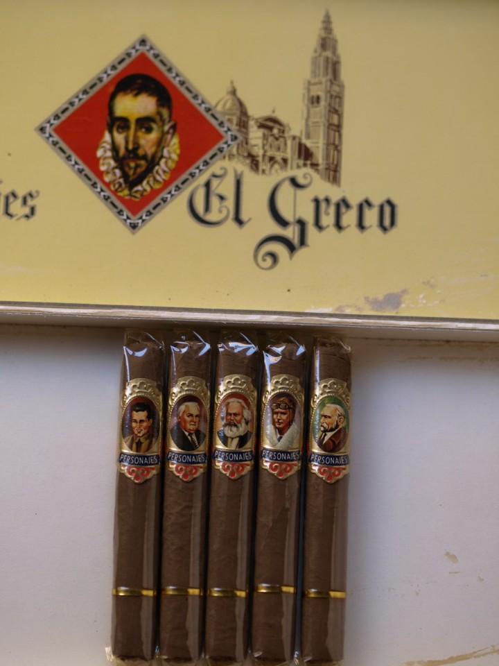 Cajas de Puros: CAJA PUROS PERSONAJES EL GRECO (INCOMPLETA) - Foto 12 - 103425335
