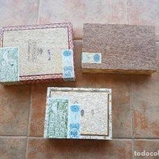 Cajas de Puros: LOTE DE 3 CAJAS DE PUROS VACIAS REPUBLICA DOMINICANA. Lote 103849315