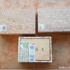 Cajas de Puros: LOTE DE 3 CAJAS DE PUROS VACIAS REPUBLICA DOMINICANA. Lote 103849419