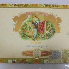 Cajas de Puros: CAJA DE PUROS. ROMEO Y JULIETA. 25 CORONITAS EN CEDRO. 1993. VER FOTOS. Lote 104365787