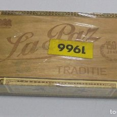 Cajas de Puros: CAJA DE PUROS. LA PAZ. CERRADA. 25 PUROS. AÑO 1966. VER. PERFECTO ESTADO. Lote 105253123
