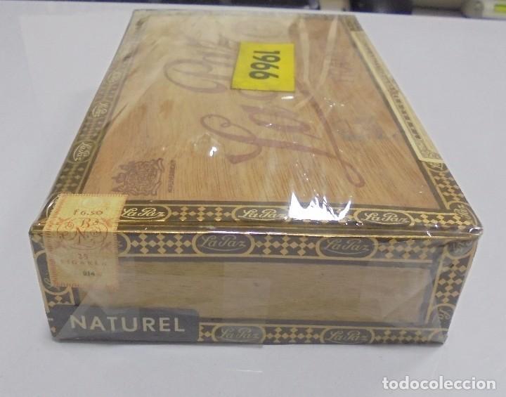 Cajas de Puros: CAJA DE PUROS. LA PAZ. CERRADA. 25 PUROS. AÑO 1966. VER. PERFECTO ESTADO - Foto 7 - 105253123