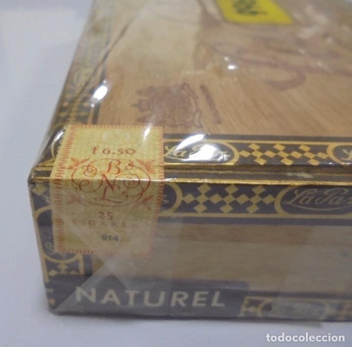 Cajas de Puros: CAJA DE PUROS. LA PAZ. CERRADA. 25 PUROS. AÑO 1966. VER. PERFECTO ESTADO - Foto 8 - 105253123