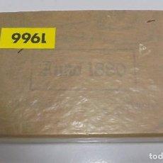 Cajas de Puros: CAJA DE PUROS. ANNO 1880 NATUREL. CERRADA. 50 PUROS. AÑO 1966. VER. PERFECTO ESTADO. Lote 105253439