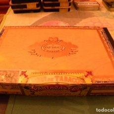 Cajas de Puros: CAJA PUROS PARTAGAS LA HABANA. Lote 105372227