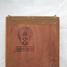 Cajas de Puros: CAJA DE PUROS SUERDIECK. Lote 105749439