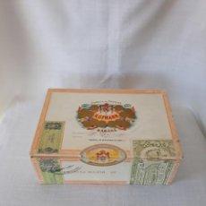 Cajas de Puros: CAJA DE PUROS H. UPMANN 25 CORONAS MAJOR. Lote 107033479