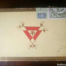 Cajas de Puros: CAJA MADERA DE PUROS VACÍA MONTE CRISTO HABANA 25 MONTECRISTO NUMERO 4. Lote 107084002