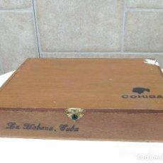 Cajas de Puros: CAJA MADERA PUROS COHIBA. Lote 107418931