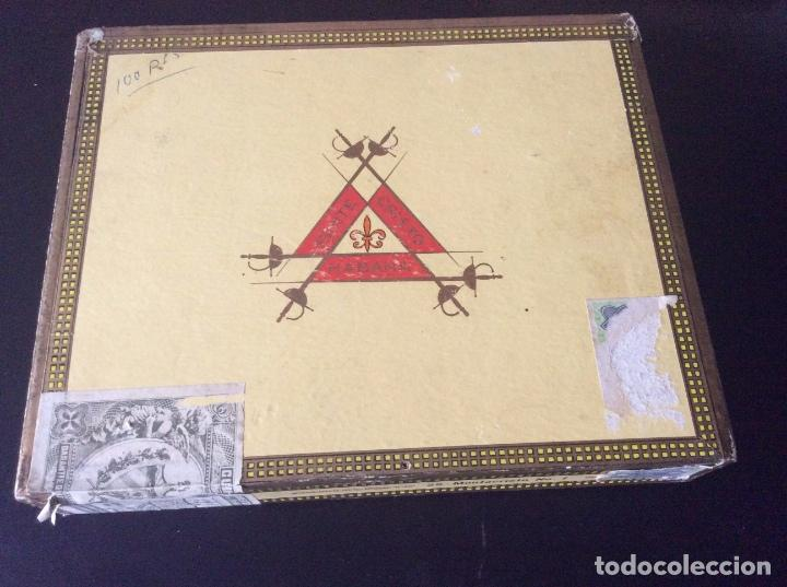 CAJA DE PUROS MONTECRISTO N 1 (Coleccionismo - Objetos para Fumar - Cajas de Puros)