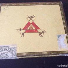 Cajas de Puros: CAJA DE PUROS MONTECRISTO N 1. Lote 109488419