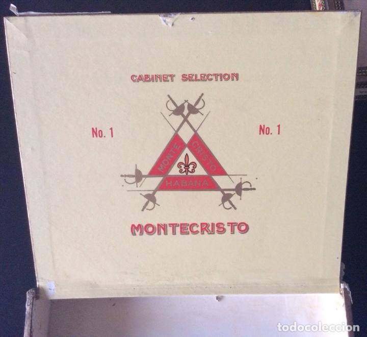 Cajas de Puros: CAJA DE PUROS MONTECRISTO N 1 - Foto 2 - 109488419