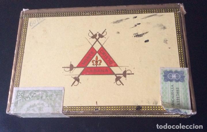 CAJA DE PUROS MONTECRISTO NÚMERO 4 (Coleccionismo - Objetos para Fumar - Cajas de Puros)
