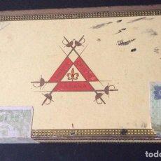 Cajas de Puros: CAJA DE PUROS MONTECRISTO NÚMERO 4. Lote 182245095
