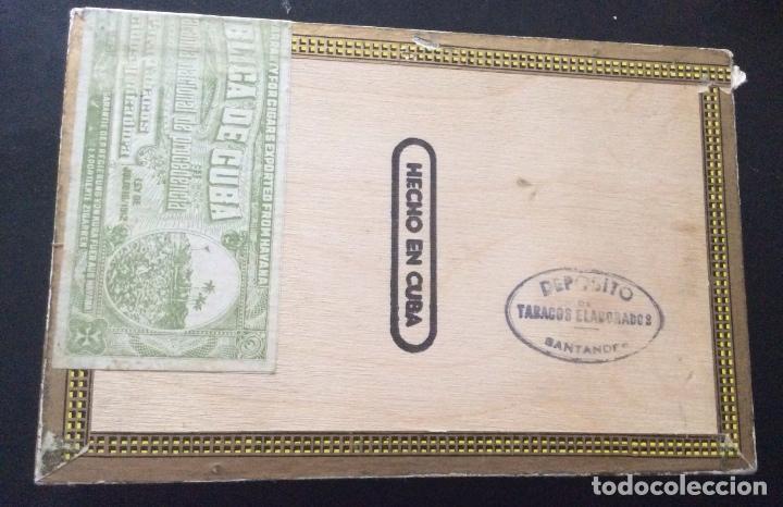 Cajas de Puros: CAJA DE PUROS MONTECRISTO NÚMERO 4 - Foto 3 - 109489211