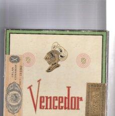 Cajas de Puros: CAJA DE PUROS VENCEDOR-CON 13 PUROS-SIN ABRIR. Lote 109827635