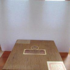 Cajas de Puros: CAJA DE PUROS VACIA - VERACRUZ - VALLE DE MEXICO - 23X21X8. Lote 109876779