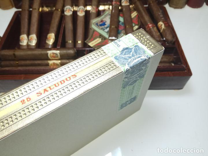 Cajas de Puros: GRAN LOTE COMPUESTO POR DOS CAJAS DE PUROS ALVARO CERRADOS, 25 SALUDOS + 25 DON ALVAROS Y MUCHO MAS - Foto 6 - 109895443