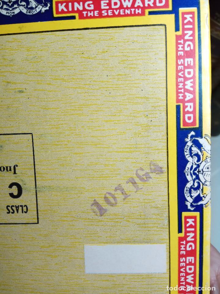 Cajas de Puros: INTERESANTE LOTE COMPUESTO POR DOS CAJAS DE PUROS KING EDWARD - 50 PUROS NUEVA PRECINTADA,OTRA VACIA - Foto 7 - 109899067