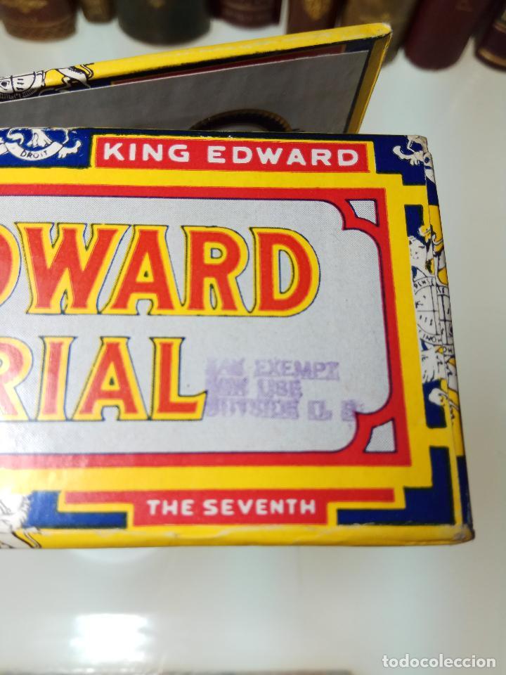 Cajas de Puros: INTERESANTE LOTE COMPUESTO POR DOS CAJAS DE PUROS KING EDWARD - 50 PUROS NUEVA PRECINTADA,OTRA VACIA - Foto 8 - 109899067