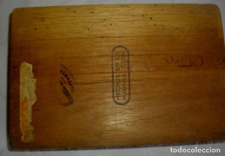 Cajas de Puros: CAJA DE PUROS HABANOS PETRONIO (VACIA) EPOCA PRE-REVOLUCION - Foto 3 - 110190395
