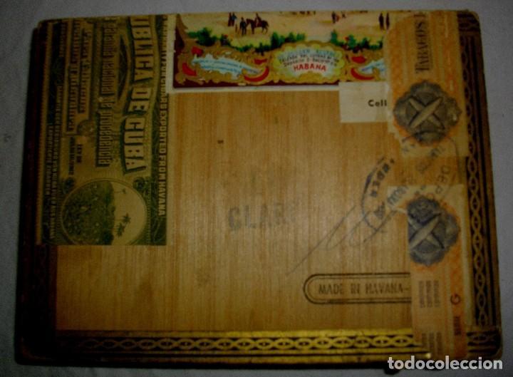 Cigar Boxes: HABANOS CIGAR BOX.-CUBA LA FLOR DE HENRRY CLAY (EMPTY) PRE REVOLUTION - Photo 4 - 110191375