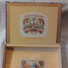 Cajas de Puros: CAJA MADERA PUROS PARTAGAS 25 HABANEROS CIFUENTES Y CIª CUBATABACO HABANA CUBA MADE IN HAVANA VACIA. Lote 110480315