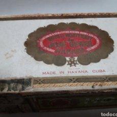 Cajas de Puros: CAJA DE PUROS MUY ANTIGUA HOYO DE MONTERREY RARA. Lote 110676780