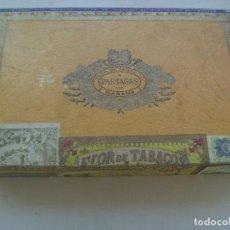 Cajas de Puros: CAJA DE PUROS DE MADERA DE PARTAGAS . HABANA , CUBA .. Lote 110768199