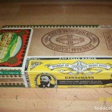 Cajas de Puros: CAJA DE CIGARRO PURO DANNEMANN-CORINITAS.LLENA. Lote 111055731