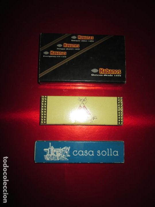 Cajas de Puros: caja puros-con tubos vacíos gruesos+cerillas-coleccionistas-ver fotos - Foto 7 - 112272731