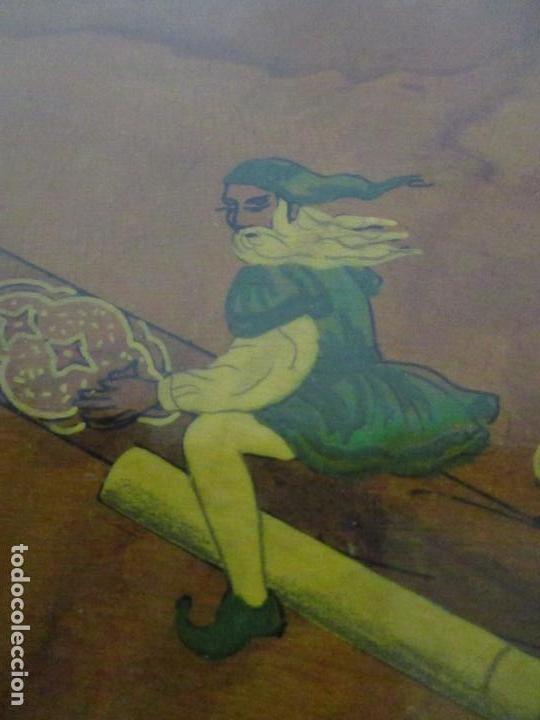 Cajas de Puros: Preciosa Caja de Puros y Cigarrillos - Madera de Olivo - con Departamentos - Bonita Decoración Tapa - Foto 6 - 112434847