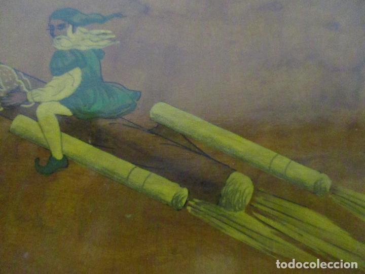 Cajas de Puros: Preciosa Caja de Puros y Cigarrillos - Madera de Olivo - con Departamentos - Bonita Decoración Tapa - Foto 7 - 112434847