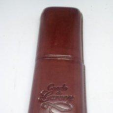 Cajas de Puros: PURERA PIEL CONDE DE GARVEY NO USADA COLECCIONISMO. Lote 112918975