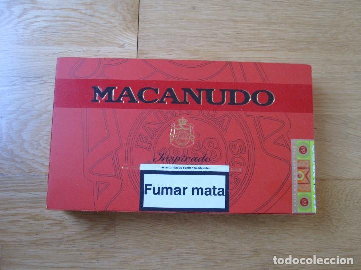 CAJA PUROS MACANUDO (Coleccionismo - Objetos para Fumar - Cajas de Puros)