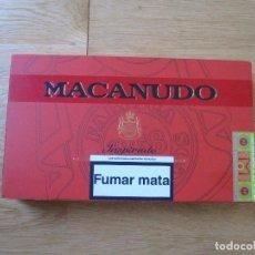 Cajas de Puros: CAJA PUROS MACANUDO. Lote 113338907