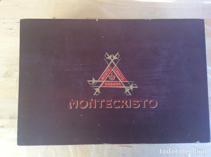 PUROS HABANOS MONTECRISTO CAJA (Coleccionismo - Objetos para Fumar - Cajas de Puros)