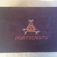 Cajas de Puros: PUROS HABANOS MONTECRISTO CAJA. Lote 113604307