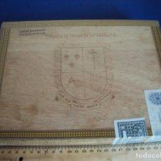 Cajas de Puros: (TA-180300)CAJA DE PUROS PRECINTADA COMPAÑIA DE TABACOS DE LAS ANTILLAS S.A. - PRECINTADA. Lote 114156767