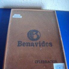 Cajas de Puros: (TA-180308)CAJA DE PUROS BENAVIDES CELEBRACION - PRECINTADA. Lote 114159059