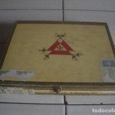 Cajas de Puros: CAJA DE PUROS DE MADERA MONTECRISTO: 10 TUBOS. . Lote 114262983