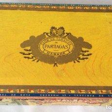 Cajas de Puros: CAJA DE PUROS -PARTAGAS - HABANA - . Lote 115473983